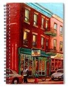 Vintage Montreal Spiral Notebook