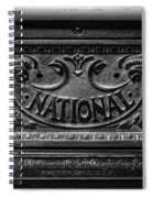Vintage National Cash Register Spiral Notebook