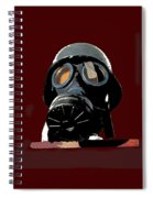 Vintage Nazi Gas Mask Barry Sadler Collection Tucson Arizona 1971-2016 Spiral Notebook