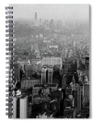 Vintage New York City Panorama 1930 Spiral Notebook