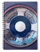 Vintage Oil Indicator Spiral Notebook