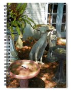 Vintage Outdoor Decor Spiral Notebook
