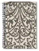 Vintage Parterre Design Spiral Notebook