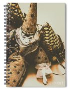 Vintage Party Puppet Spiral Notebook