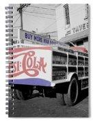 Vintage Pepsi Truck Spiral Notebook