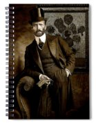 Vintage Photograph Of Vincent Van Gogh - Taken 13 Years After His Death Spiral Notebook