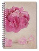 Vintage Pink Hydrangea Spiral Notebook
