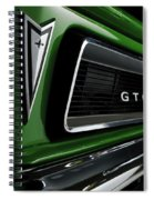 Vintage Pontiac Gto - Doc Braham - All Rights Reserved Spiral Notebook