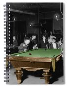 Vintage Pool Hall Spiral Notebook
