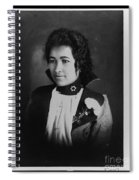 Vintage Portrait Of Colored Lady Spiral Notebook