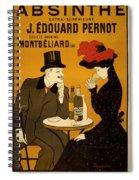 Vintage Poster 2 Spiral Notebook