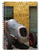 Vintage Racing Car Spiral Notebook