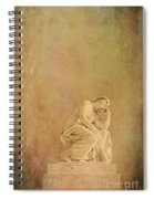 Vintage Reflecting Woman 1 - Artistic Spiral Notebook