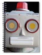 Vintage Robot 1 Dt Spiral Notebook