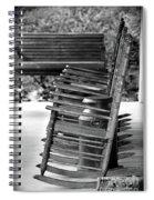 Vintage Rocker Rhythm Spiral Notebook