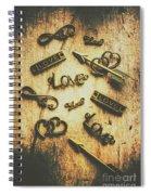 Vintage Romance Spiral Notebook