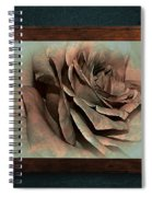 Vintage Rose On Old Wall 2 By Kaye Menner Spiral Notebook