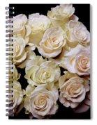 Vintage Roses Bouquet Spiral Notebook