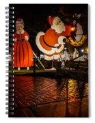 Vintage Santa Spiral Notebook