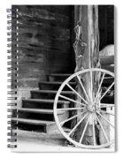 Vintage Scene Spiral Notebook