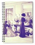 Vintage Seamstress Spiral Notebook