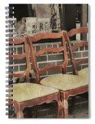 Vintage Seating Spiral Notebook