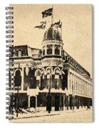 Vintage Shibe Park In Sepia Spiral Notebook