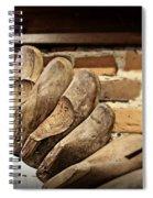 Vintage Shoe Forms Spiral Notebook
