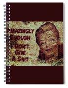 Vintage Sign 2e Spiral Notebook