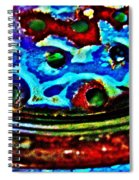 Vintage Strainer Four Spiral Notebook