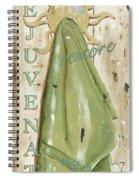 Vintage Sun Beach 1 Spiral Notebook