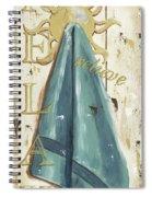 Vintage Sun Beach 2 Spiral Notebook