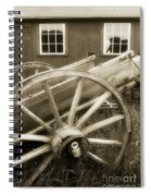 Vintage Tableau Spiral Notebook