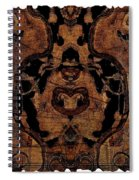 Vintage Tapestry Spiral Notebook