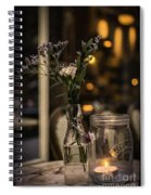 Vintage Tea Shop 2 Spiral Notebook