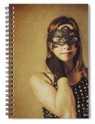 Vintage Theatre Show Girl  Spiral Notebook