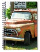 Vintage Tow Truck Spiral Notebook