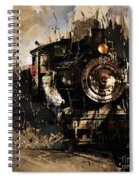 Vintage Train 06 Spiral Notebook