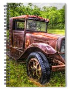 Vintage Treasure Spiral Notebook