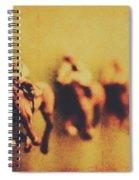 Vintage Trots Spiral Notebook