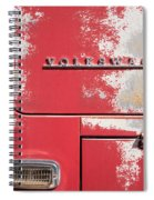 Vintage Volkwagen Emblem Spiral Notebook