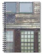 Vintage Warehouse Building Spiral Notebook