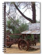Vintage Well Driller 1 Spiral Notebook