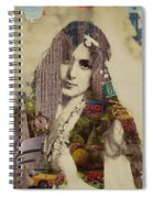 Vintage Woman Built By New York City 1 Spiral Notebook