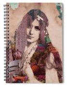 Vintage Woman Built By New York City 2 Spiral Notebook