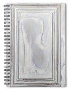 Vintage Wood Panel Spiral Notebook