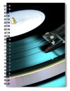 Vinyl Record Spiral Notebook