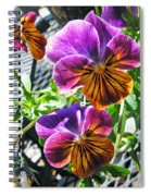 Violas Spiral Notebook
