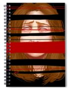 Violator Of The Terms Of Service  Spiral Notebook