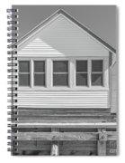 9 - Violet - Flower Cottages Series Spiral Notebook